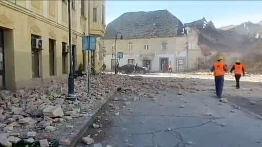 Earthquake in Croatia