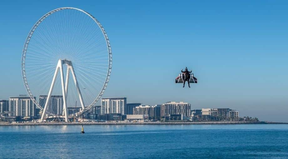 WATCH: Jetpack daredevil pulls off milestone stunt with impressive high-altitude flight