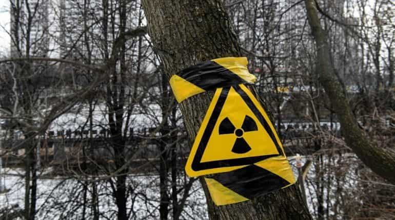Fire near Chernobyl nuclear plant creates large spike in radiation levels