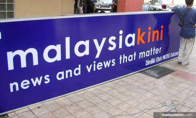Malaysia: Malaysiakini hit with massive fine of $120,000 over reader comments