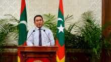 President Yameen was then a member of parliament and was arrested twice, the first time for allegedly bribing parliamentary members.