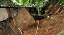Landslides wreak havoc