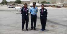 Indian women pilots shine
