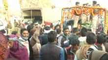 Mortal remains of CRPF jawan brought to his native place.