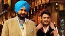 Kapil Sharma with Navjot Singh Sidhu.