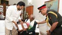 1971 War Veteran being honored by Indian Army in Tirupati