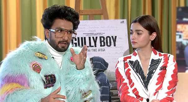 Ranveer Singh, Alia Bhatt and director Zoya Akhtar discuss Indian rap drama, 'Gully Boy'