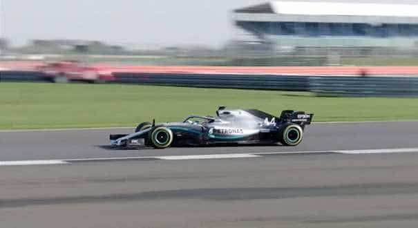 'A great first date' - Hamilton delights as new Mercedes makes track debut
