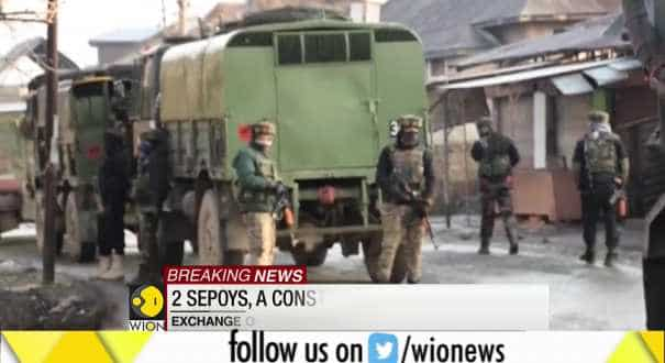 4 Army men critically injured in Pulwama