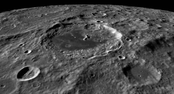 Moon's biggest crater