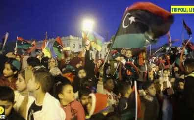 Libyans celebrate 8th anniversary of 2011 revolution