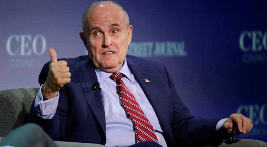 Giuliani Now Under Counterintelligence Investigation Focused on Possible Foreign Influence Operation