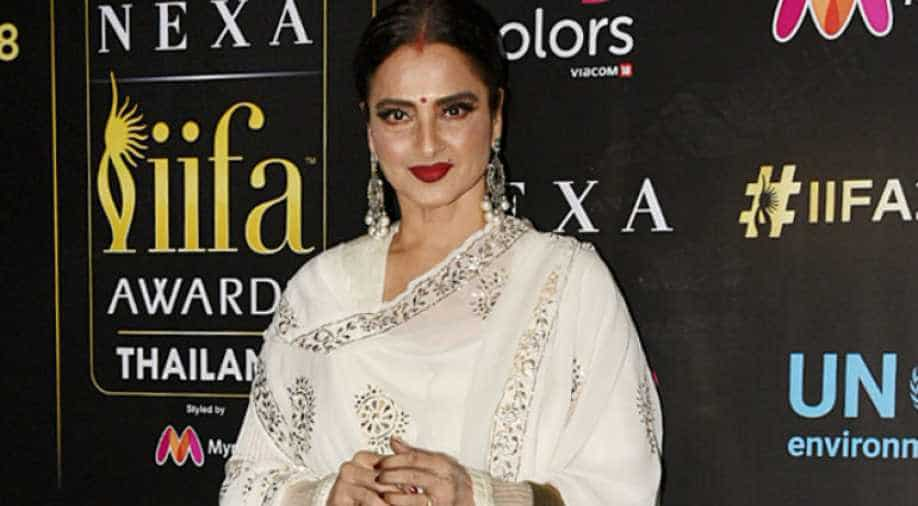 BMC seals Rekha's bungalow after staff tests positive for coronavirus