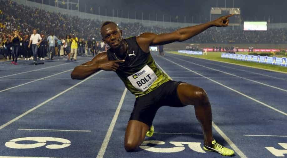 Usain Bolt reveals the name of his baby daughter