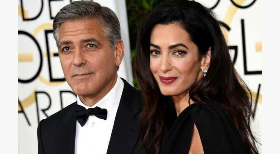 George Clooney hospitalised after shedding two stone for new film