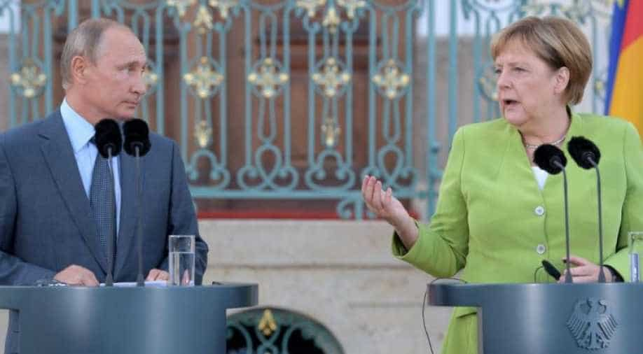 Merkel accuses Russian Federation of cyberattack on her office