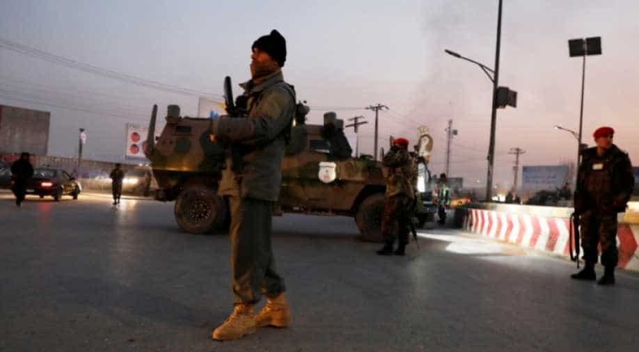 Twin bombing at Afghan ceremony kills 3, wounds a dozen
