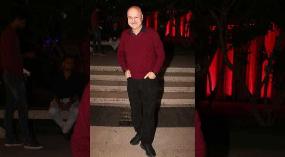 Several members of Anupam Kher's family test positive for Coronavirus