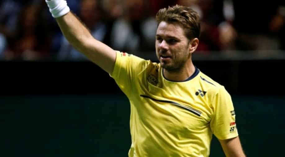 Wawrinka stuns Nishikori to reach second Rotterdam final