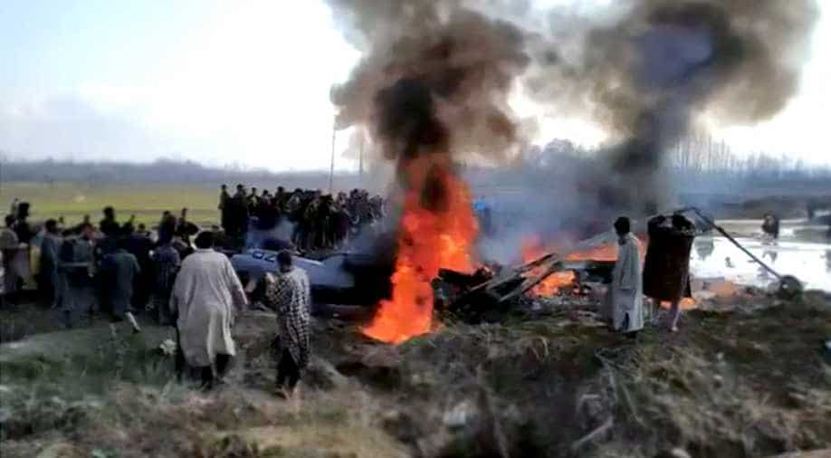 Indian Air Force jet crashes in Budgam, one killed