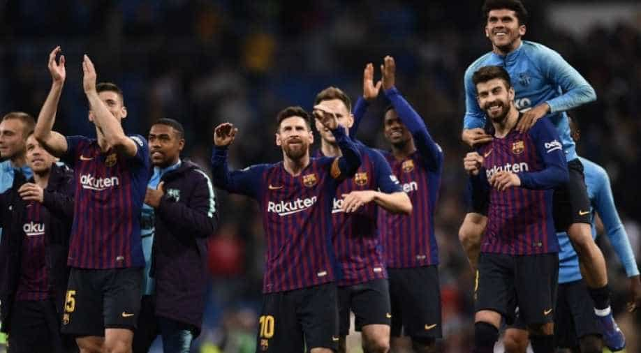 Pochettino picks Barcelona as favourites to win Champions League