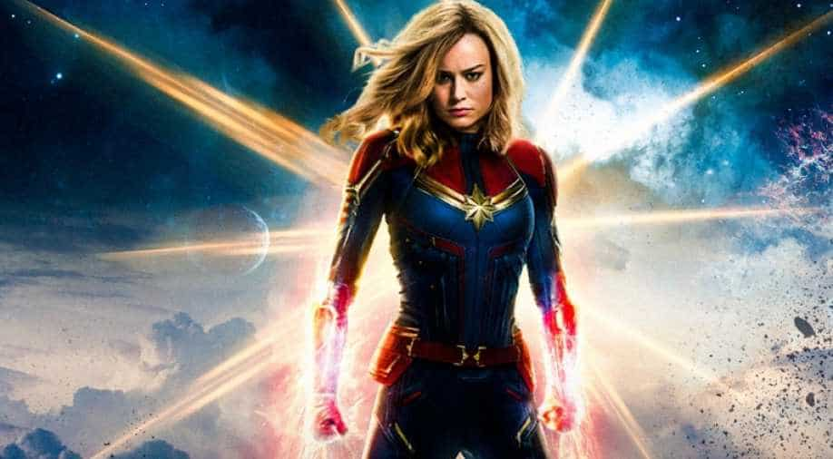 Moviegoers gets to see 'Captain Marvel' in the flesh