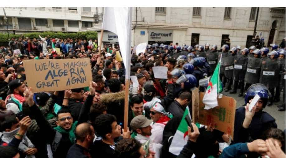 Algeria sends students home early amid Bouteflika protests