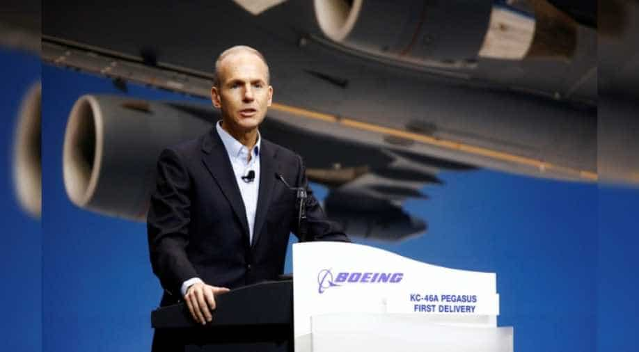 Safety at 'core' of Boeing, says CEO