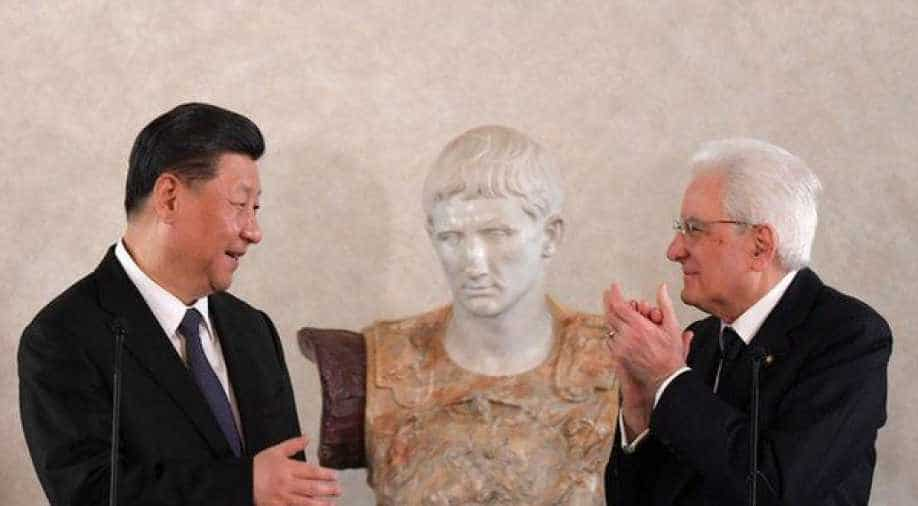Chinese president signs trade deal with Italy despite United States pushback