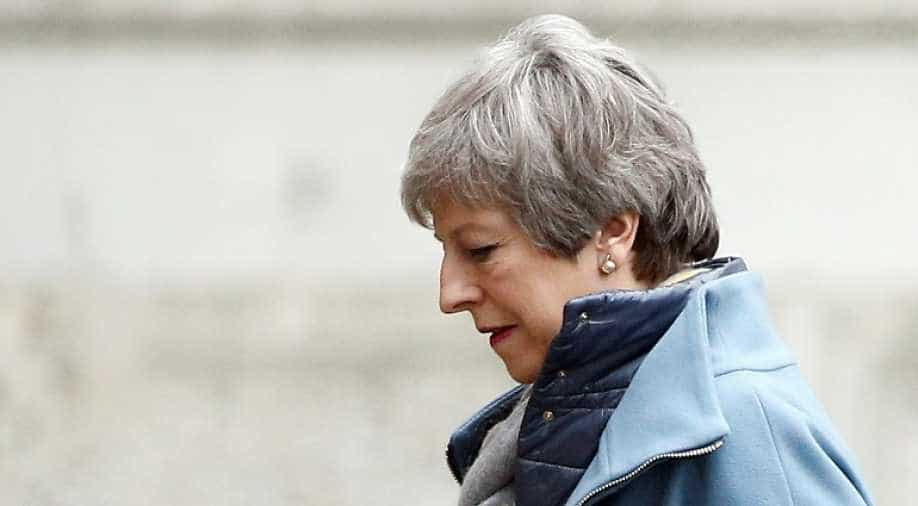 Theresa May facing heavy pressure to step down to save Brexit