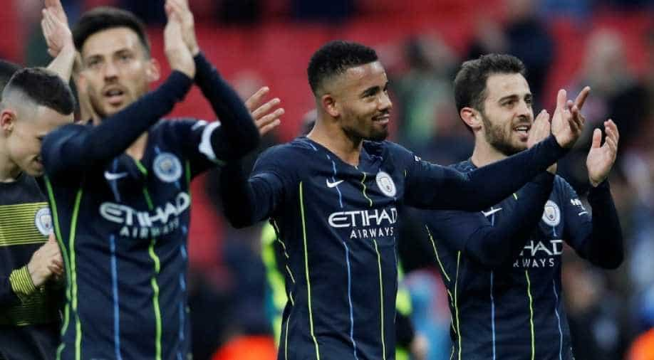 Manchester City get back to work after defeating Brighton at Wembley