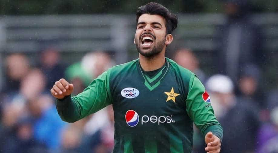 Shadab Khan Dropped From England Tour Due To Hepatitis C!