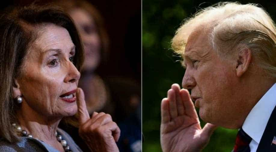 Trump says Pelosi may be guilty of treason