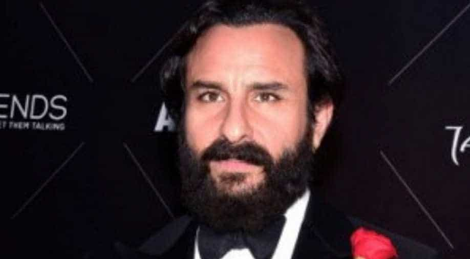 Saif Ali Khan says he has been a victim of nepotism, but nobody speaks of that