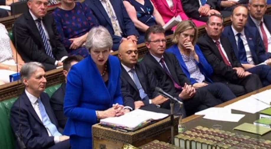 Theresa May's Parting Shot At Jeremy Corbyn At PMQs