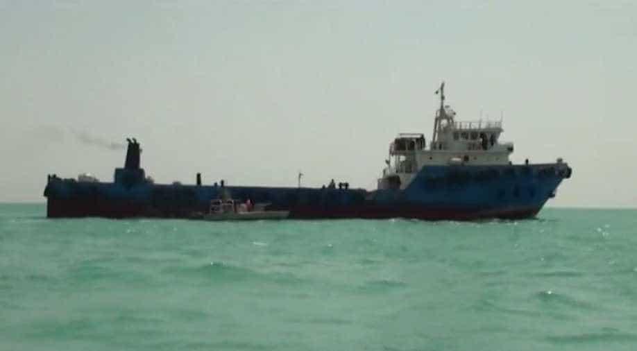 Greek Tanker Hit By Naval Mine In Saudi Arabia