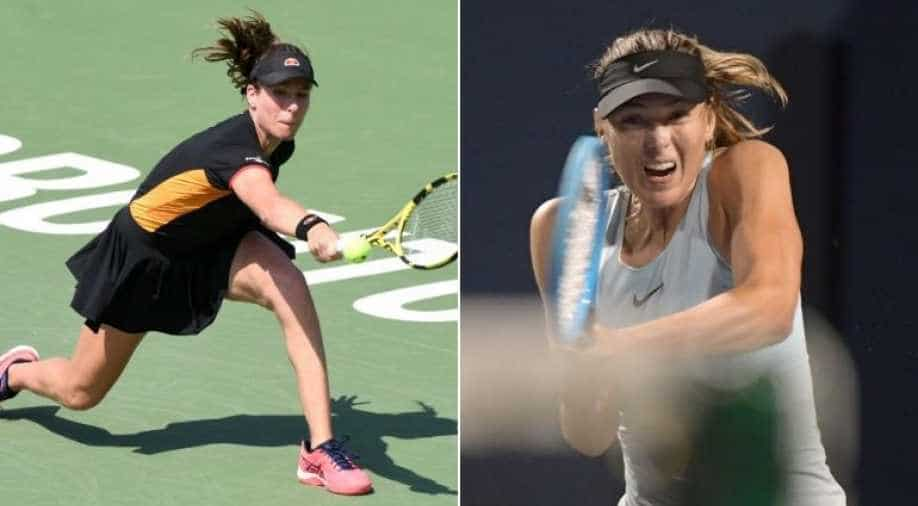 Anett Kontaveit downs Maria Sharapova, Angelique Kerber falls in Toronto class=