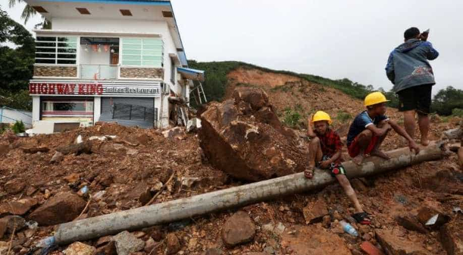 Toll in Myanmar landslide reaches 48