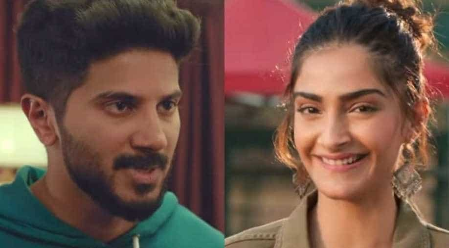 Sonam Kapoor and Dulquer Salmaan launch the trailer of The Zoya Factor