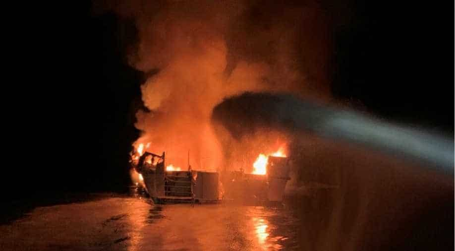 California scuba diving boat blaze leaves at least 25 dead