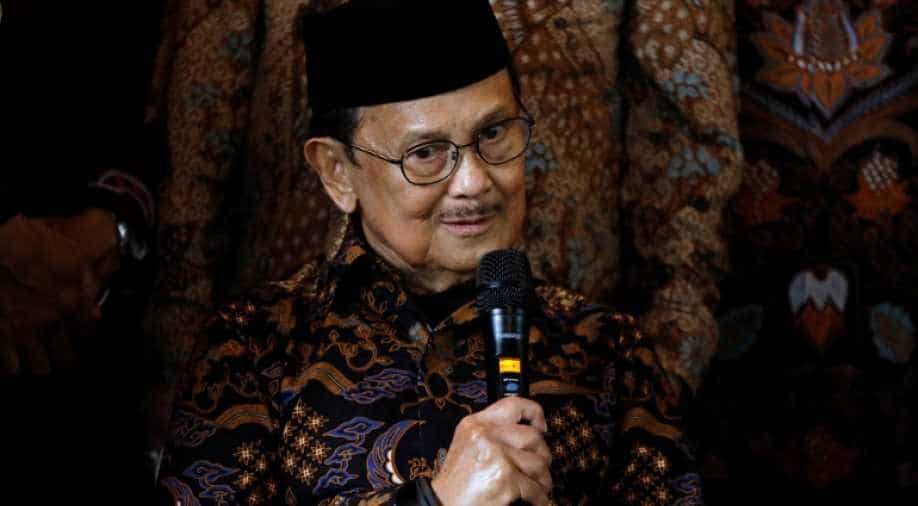 Former Indonesian President Habibie Dies at Age 83