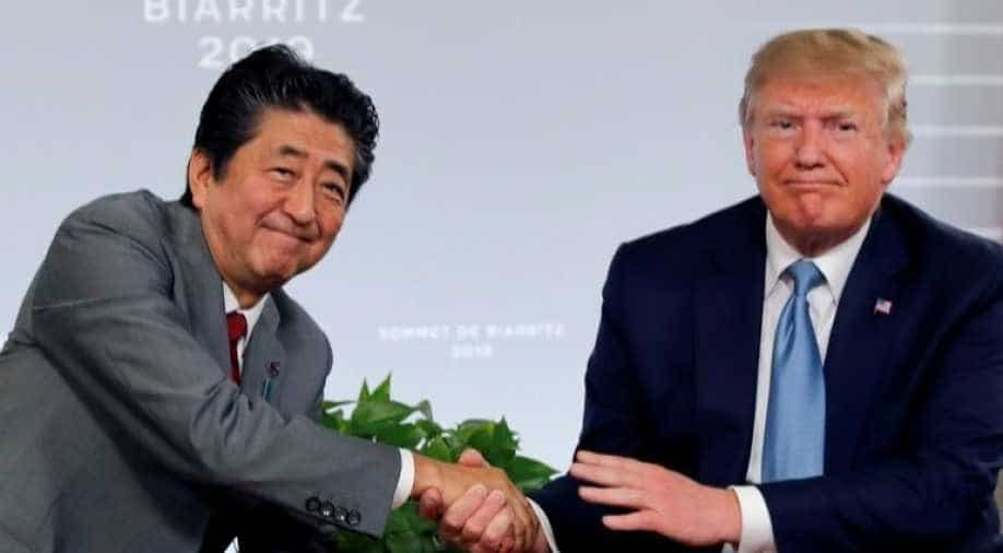 Trump says U.S. reaches trade deals with Japan, no vote needed