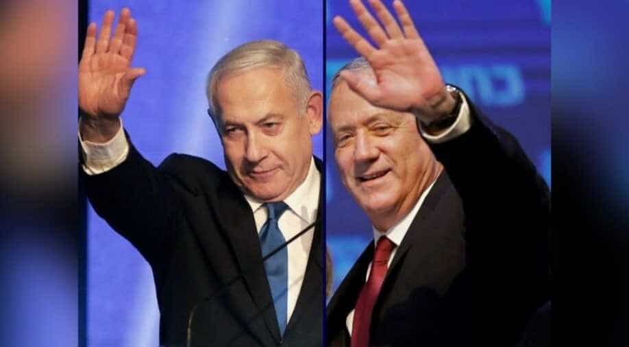 Benny Gantz appears cool to Netanyahu's pitch for unity government in Israel