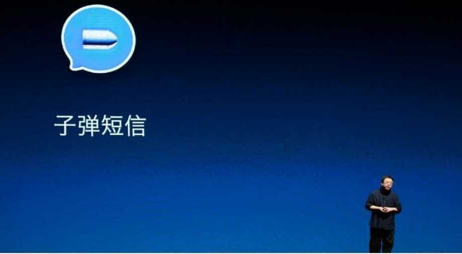 Founder of China`s smartphone maker Smartisan barred from planes, trains