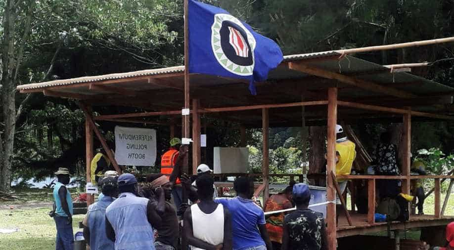 Bougainville voters back independence