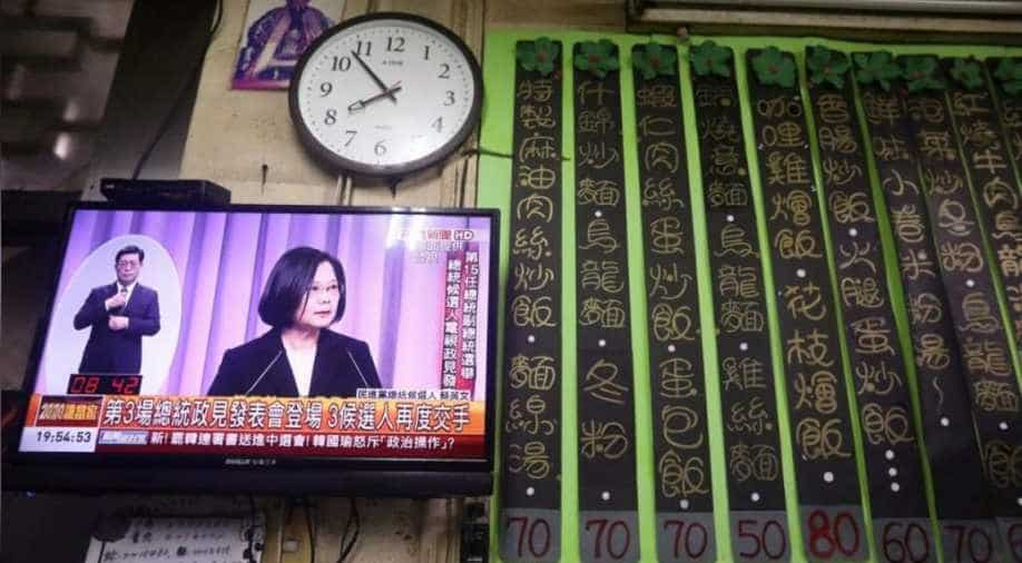 Tsai: Won't let Taiwan become next Hong Kong