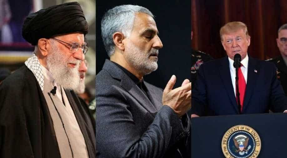 Iran Reportedly Wants Interpol to Arrest Trump Over Soleimani's Killing