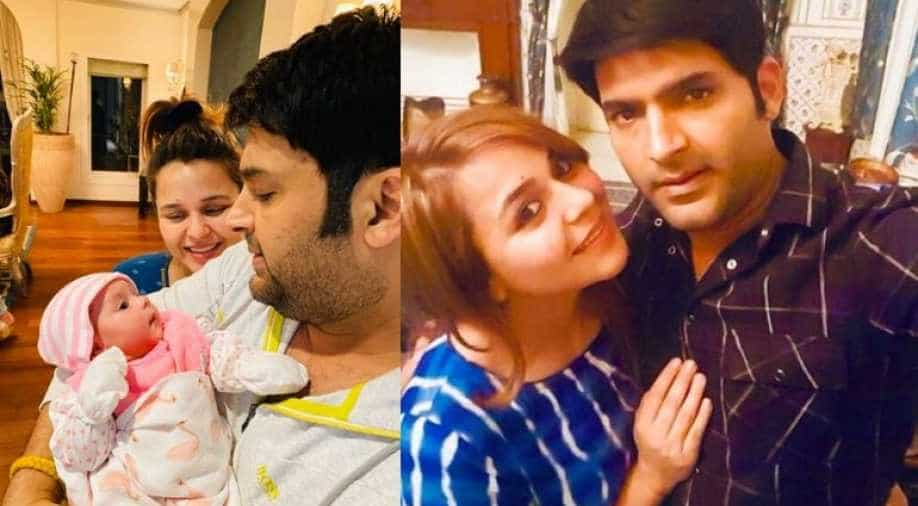 Kapil Sharma's baby girl Anayra makes Twitter debut