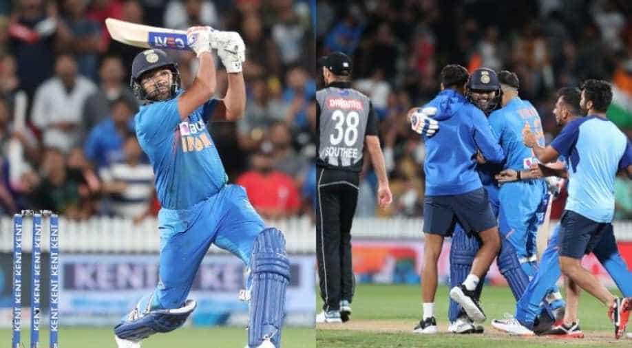 New Zealand vs India 2020: Rohit Sharma Revels in Hamilton Super Over