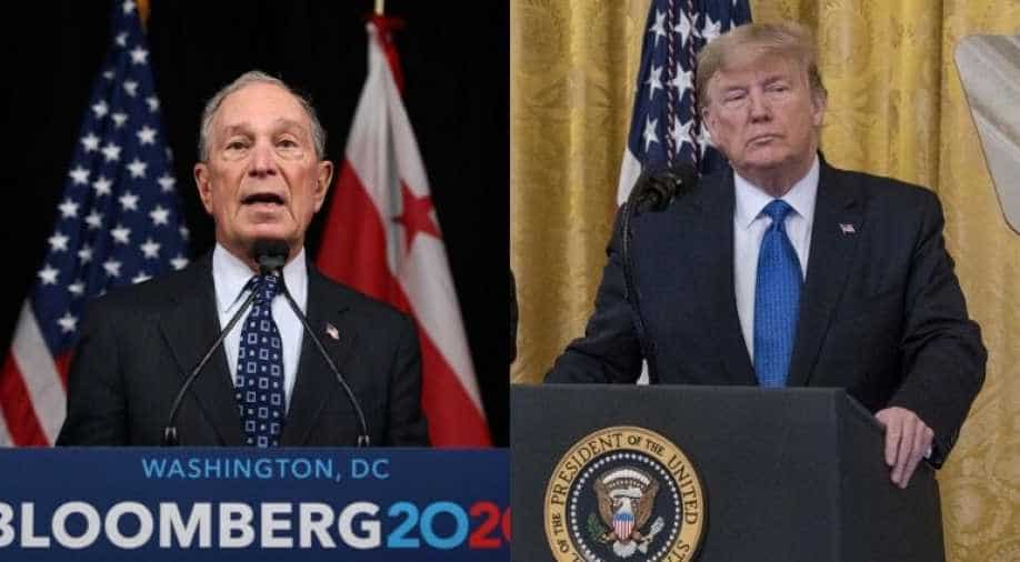 Trump Strikes Bloomberg's height before His dueling Super Bowl Advertisements